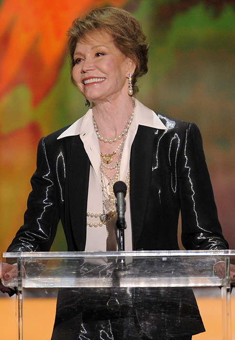 <div class='meta'><div class='origin-logo' data-origin='AP'></div><span class='caption-text' data-credit='AP Photo/Mark J. Terrill'>Mary Tyler Moore accepts the Life Achievement award at the 18th Annual Screen Actors Guild Awards on Sunday Jan. 29, 2012 in Los Angeles.</span></div>