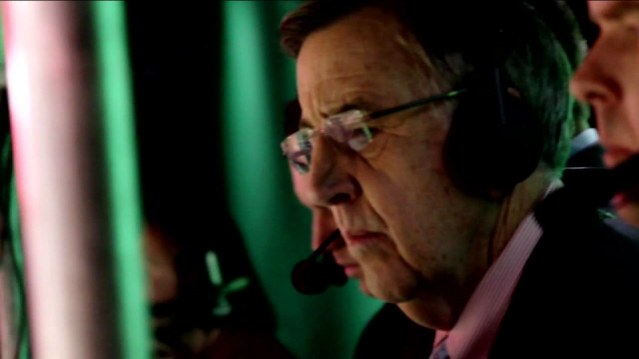 Sportscaster Brent Musburger is seen in this undated image.