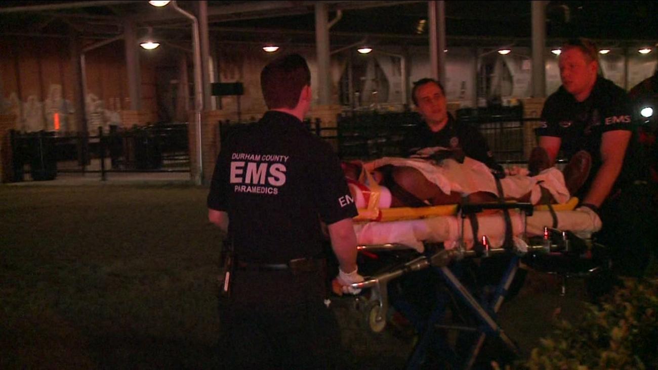 Man hit by train crossing tracks in Durham