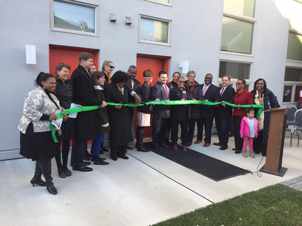 """<div class=""""meta image-caption""""><div class=""""origin-logo origin-image none""""><span>none</span></div><span class=""""caption-text"""">It was the ribbon cutting and official grand opening of The 4050 Apartments - a new apartment complex on Haverford Avenue.</span></div>"""