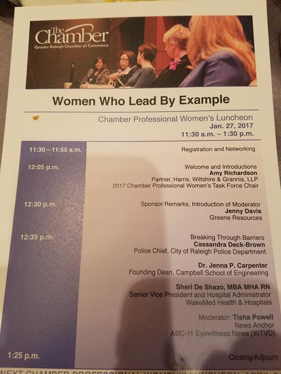 "<div class=""meta image-caption""><div class=""origin-logo origin-image none""><span>none</span></div><span class=""caption-text"">Photos from the Women's Chamber Luncheon (ABC11/AnnMarie Breen)</span></div>"