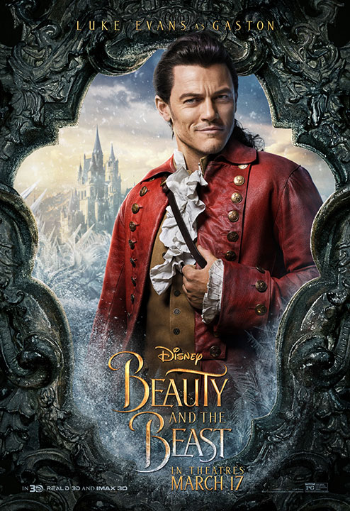 Disney Releases Beauty And The Beast Character Posters That Come