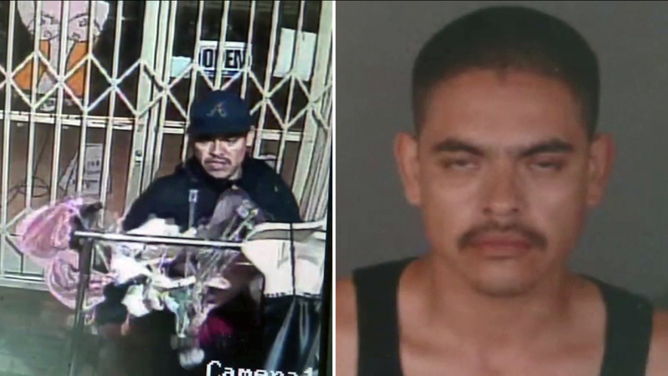 Carlos Oliva, also known as the 'panty bandit,' was sentenced on Friday, Jan. 27, 2017.