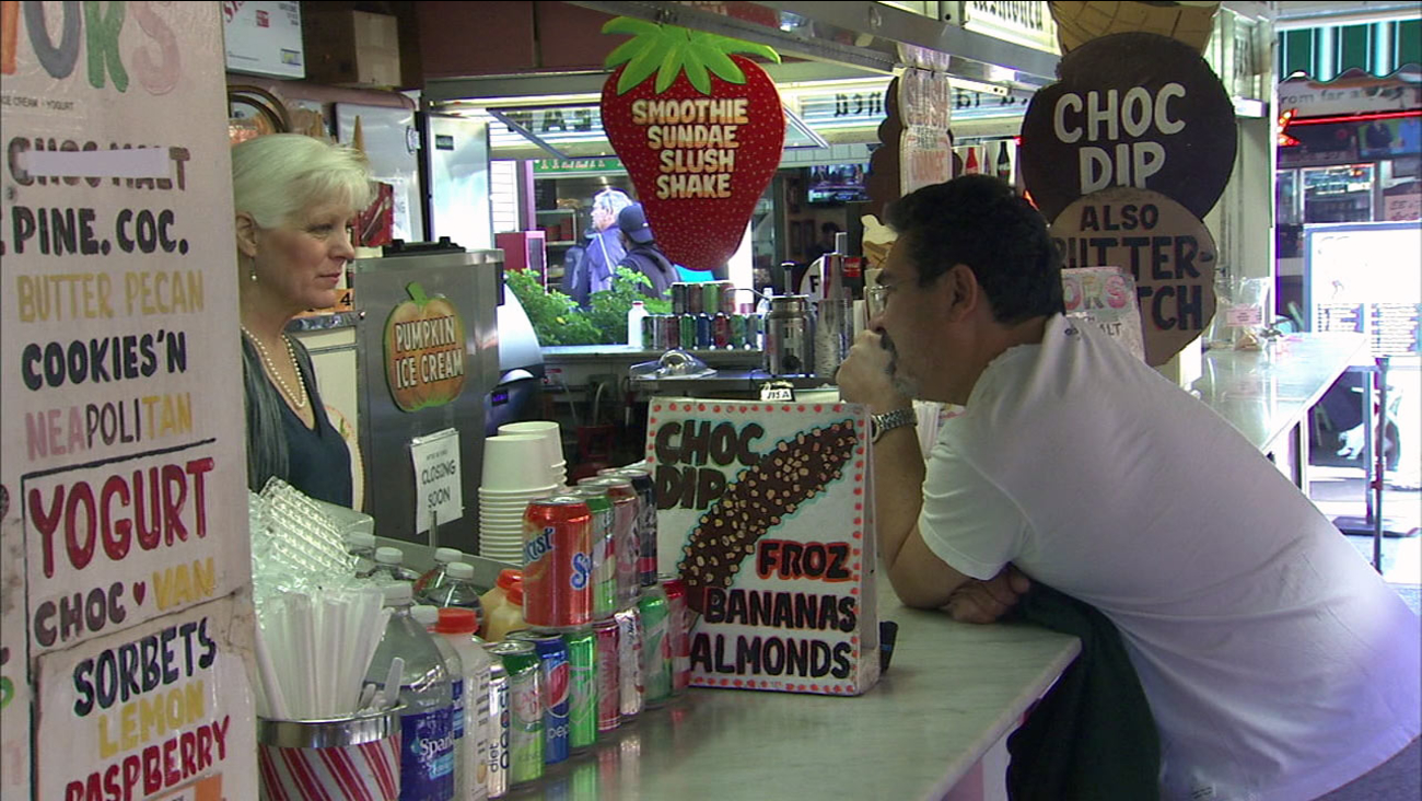 After 80 years in business, Gill's Old Fashioned Ice Cream shop will close at the Original Farmers Market in the Fairfax District.