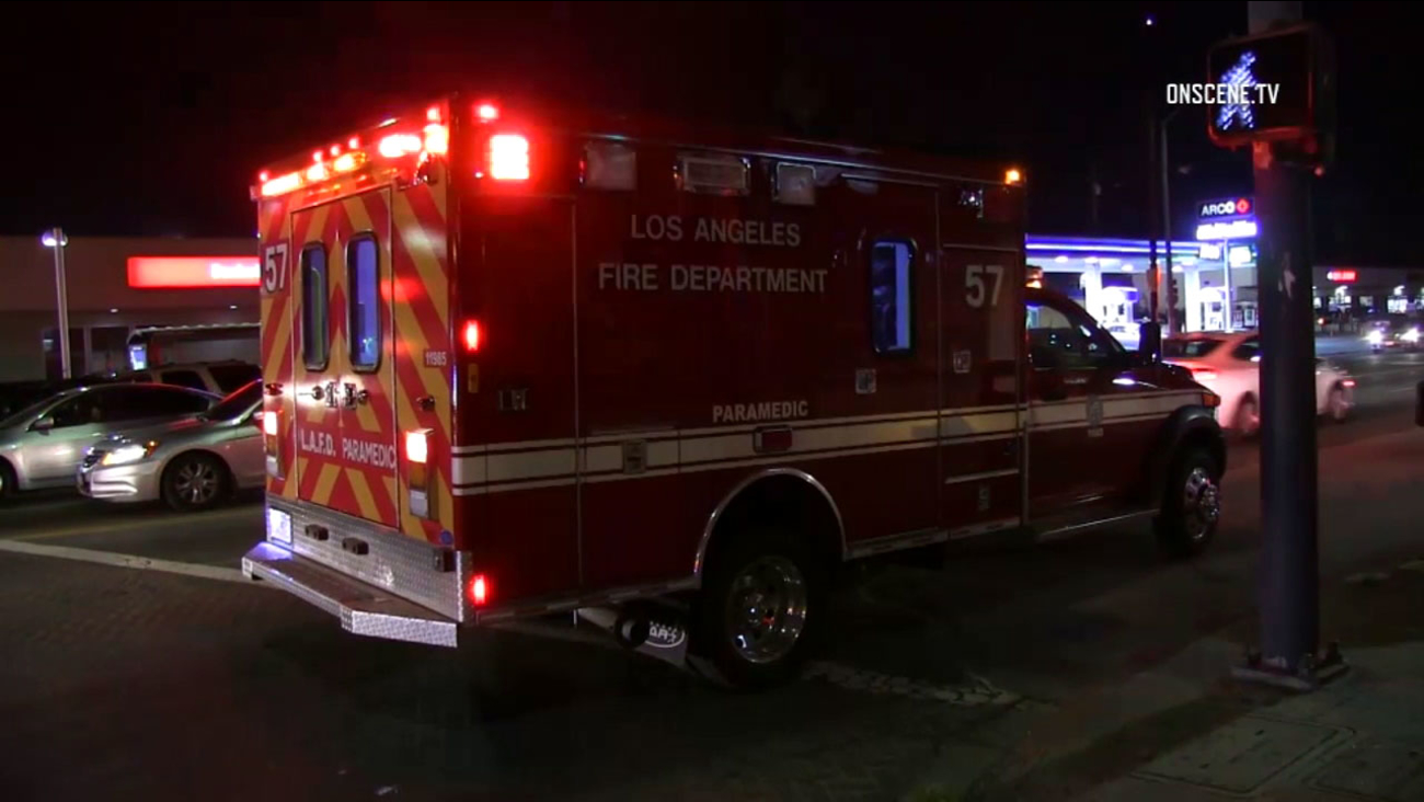 Paramedics responded to Florence where a young child was reported shot on Saturday, Jan. 28, 2017.