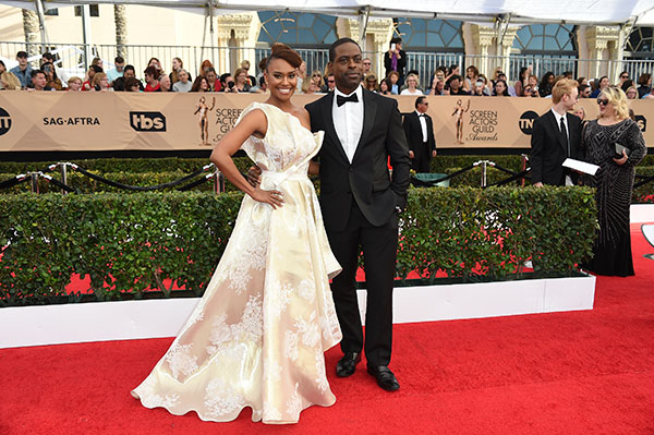 "<div class=""meta image-caption""><div class=""origin-logo origin-image none""><span>none</span></div><span class=""caption-text"">Ryan Michelle Bathe, left, and Sterling K. Brown arrive at the 23rd annual Screen Actors Guild Awards at the Shrine Auditorium & Expo Hall on Sunday, Jan. 29, 2017, in Los Angeles. (Jordan Strauss/Invision/AP)</span></div>"