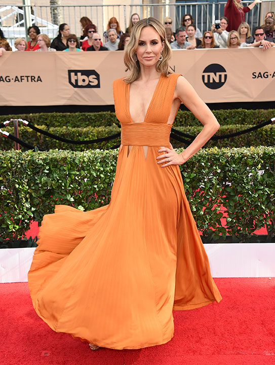 "<div class=""meta image-caption""><div class=""origin-logo origin-image none""><span>none</span></div><span class=""caption-text"">Keltie Knight arrives at the 23rd annual Screen Actors Guild Awards at the Shrine Auditorium & Expo Hall on Sunday, Jan. 29, 2017, in Los Angeles. (Jordan Strauss/Invision/AP)</span></div>"