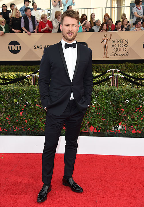 "<div class=""meta image-caption""><div class=""origin-logo origin-image none""><span>none</span></div><span class=""caption-text"">Glen Powell arrives at the 23rd annual Screen Actors Guild Awards at the Shrine Auditorium & Expo Hall on Sunday, Jan. 29, 2017, in Los Angeles. (Jordan Strauss/Invision/AP)</span></div>"
