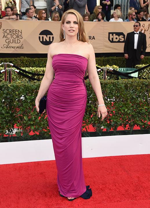 "<div class=""meta image-caption""><div class=""origin-logo origin-image none""><span>none</span></div><span class=""caption-text"">Anna Chlumsky arrives at the 23rd annual Screen Actors Guild Awards at the Shrine Auditorium & Expo Hall on Sunday, Jan. 29, 2017, in Los Angeles. (Jordan Strauss/Invision/AP)</span></div>"