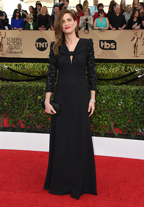 "<div class=""meta image-caption""><div class=""origin-logo origin-image none""><span>none</span></div><span class=""caption-text"">Amanda Peet arrives at the 23rd annual Screen Actors Guild Awards at the Shrine Auditorium & Expo Hall on Sunday, Jan. 29, 2017, in Los Angeles. (Jordan Strauss/Invision/AP)</span></div>"