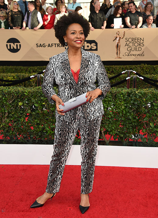 "<div class=""meta image-caption""><div class=""origin-logo origin-image none""><span>none</span></div><span class=""caption-text"">Jenifer Lewis arrives at the 23rd annual Screen Actors Guild Awards at the Shrine Auditorium & Expo Hall on Sunday, Jan. 29, 2017, in Los Angeles. (Jordan Strauss/Invision/AP)</span></div>"