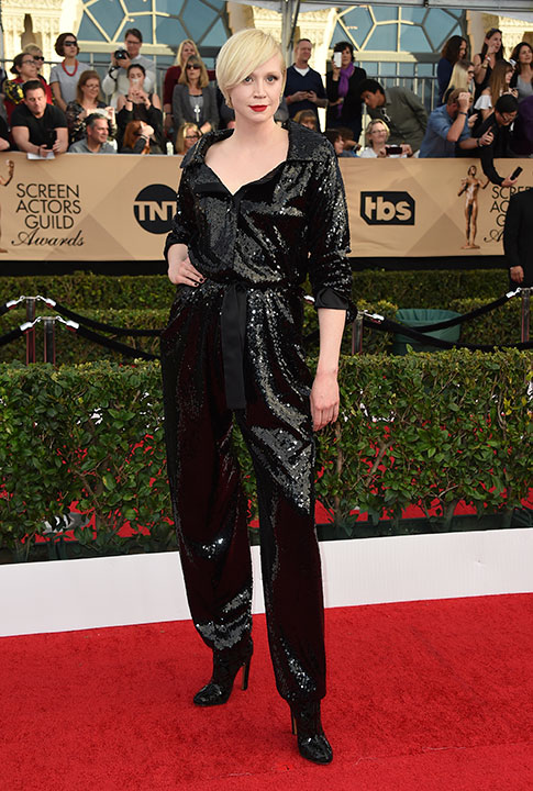 "<div class=""meta image-caption""><div class=""origin-logo origin-image none""><span>none</span></div><span class=""caption-text"">Gwendoline Christie arrives at the 23rd annual Screen Actors Guild Awards at the Shrine Auditorium & Expo Hall on Sunday, Jan. 29, 2017, in Los Angeles. (Jordan Strauss/Invision/AP)</span></div>"