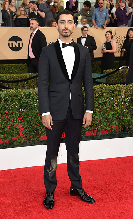 "<div class=""meta image-caption""><div class=""origin-logo origin-image none""><span>none</span></div><span class=""caption-text"">Riz Ahmed arrives at the 23rd annual Screen Actors Guild Awards at the Shrine Auditorium & Expo Hall on Sunday, Jan. 29, 2017, in Los Angeles. (Jordan Strauss/Invision/AP)</span></div>"