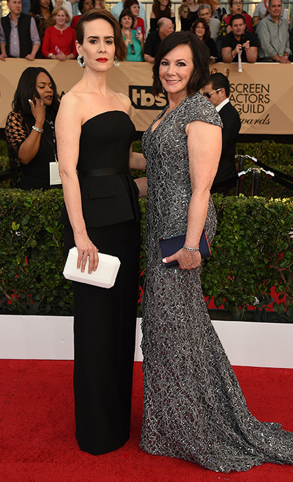 "<div class=""meta image-caption""><div class=""origin-logo origin-image ap""><span>AP</span></div><span class=""caption-text"">Sarah Paulson, left, and Marcia Clark arrive at the 23rd annual Screen Actors Guild Awards at the Shrine Auditorium & Expo Hall on Sunday, Jan. 29, 2017, in Los Angeles. (Jordan Strauss/Invision/AP)</span></div>"