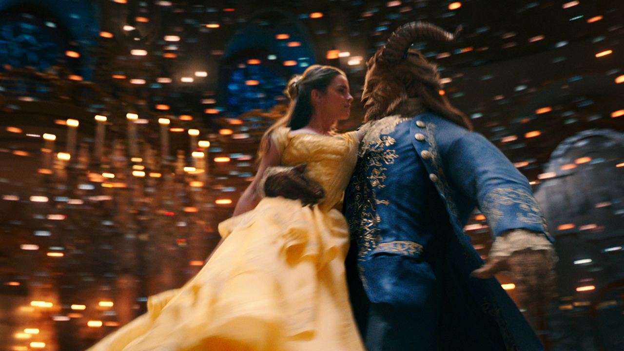 "Image of Emma Watson and Dan Stevens in ""Beauty and the Beast"""