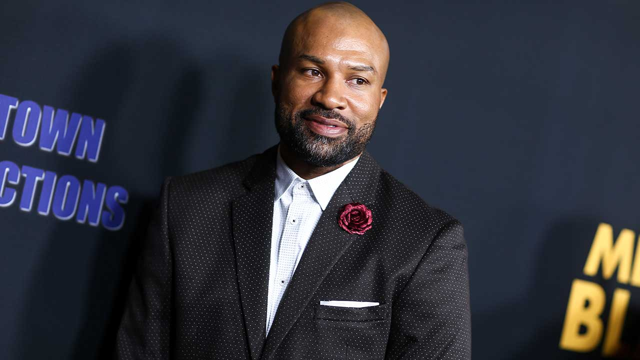 "Derek Fisher attends the LA Premiere of ""Meet the Blacks"" held at ArcLight Hollywood on Tuesday, March 29, 2016, in Los Angeles. (Photo by John Salangsang/Invision/AP)"