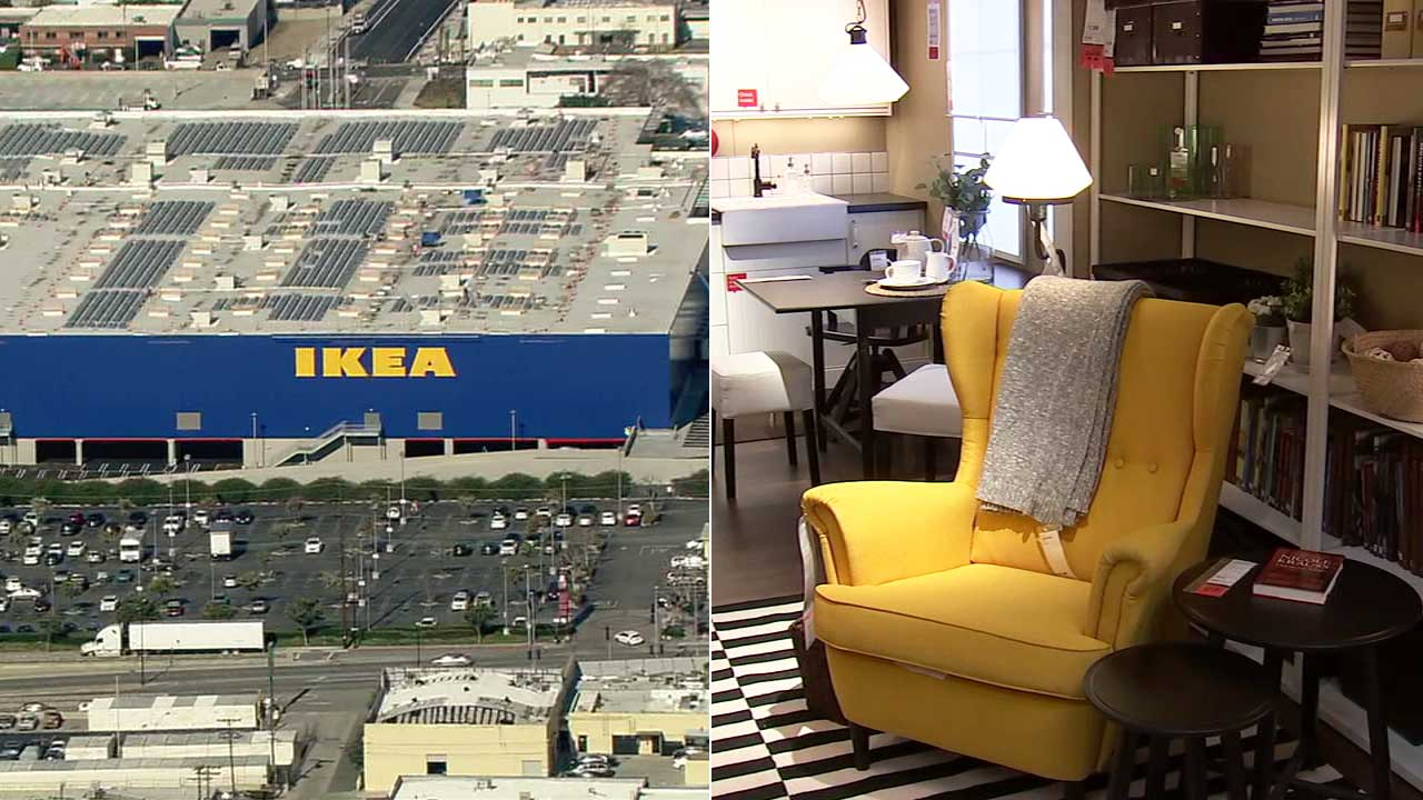 New Burbank Ikea Take A Sneak K At Largest In America