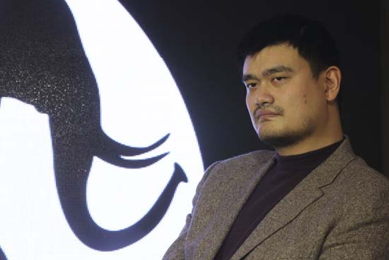 "<div class=""meta image-caption""><div class=""origin-logo origin-image ktrk""><span>KTRK</span></div><span class=""caption-text"">Former NBA star Yao Ming attends WildAid media event of an ivory reduction campaign in Shanghai, China, Friday, Dec. 6, 2013. (AP Photo/Eugene Hoshiko) (AP)</span></div>"