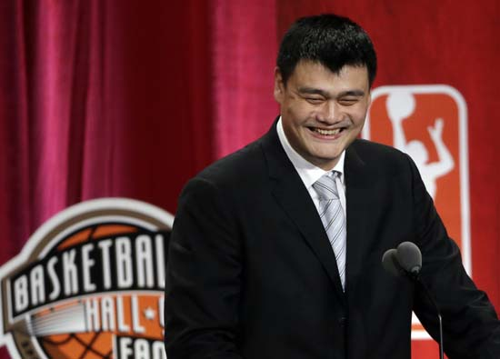 "<div class=""meta image-caption""><div class=""origin-logo origin-image ktrk""><span>KTRK</span></div><span class=""caption-text"">Basketball Hall of Fame inductee Yao Ming speaks during induction ceremonies, Friday, Sept. 9, 2016, in Springfield, Mass. (AP Photo/Elise Amendola) (AP)</span></div>"