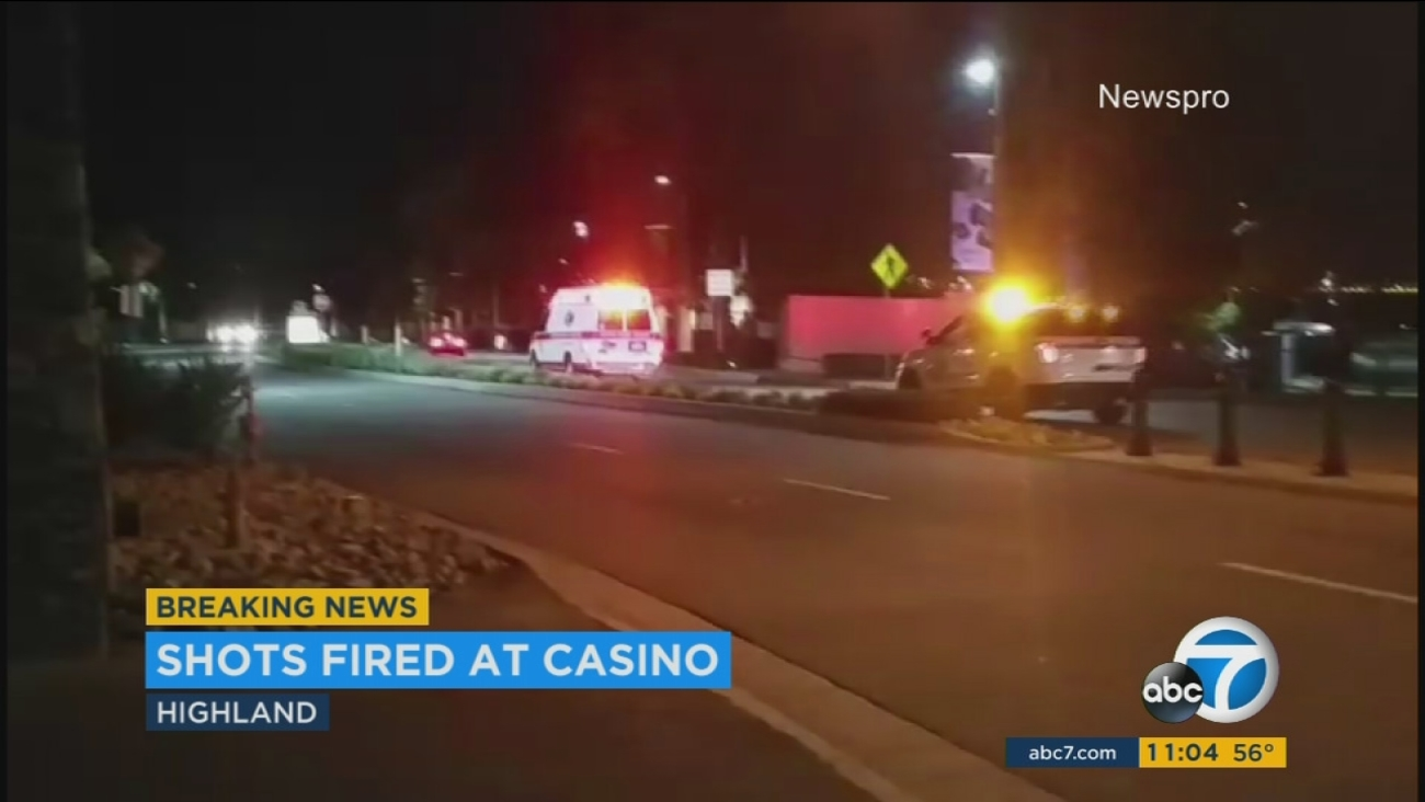 Two car-theft suspects were injured in a deputy-involved shooting at the San Manuel casino Wednesday night, officials said.