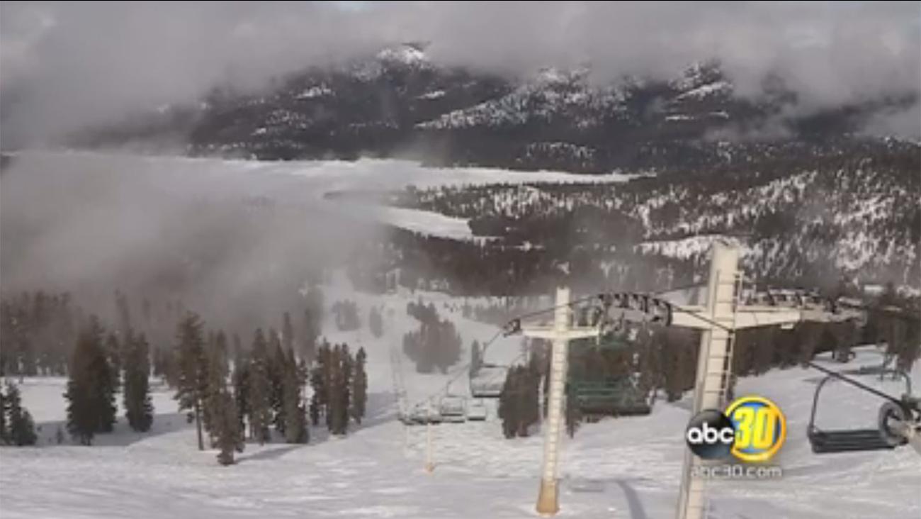 Central California ski resort China Peak on Thursday, February 2, 2017