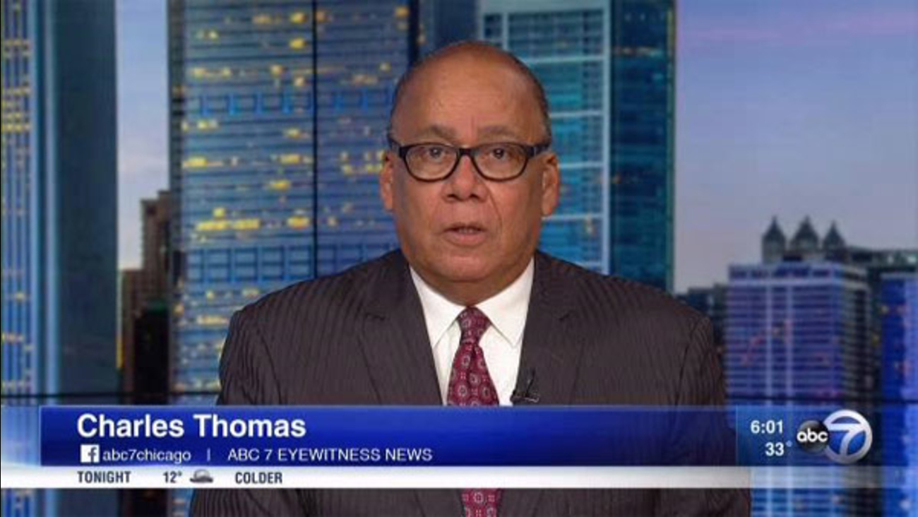 ABC7 Political Reporter Charles Thomas
