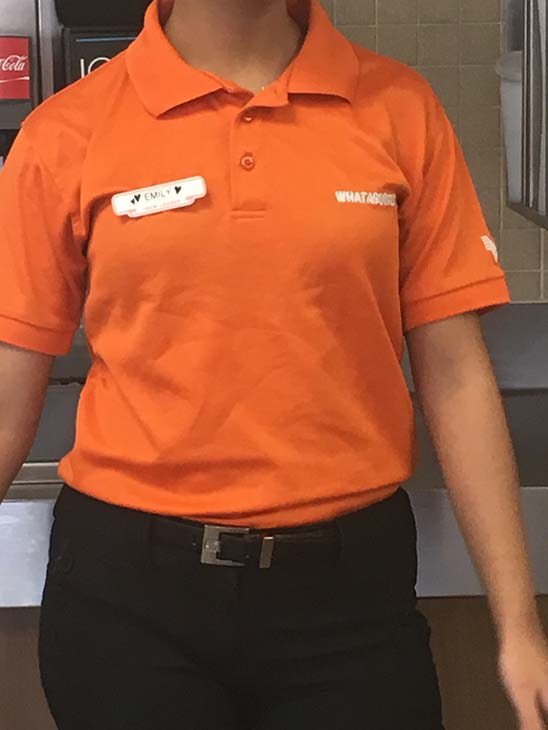 Whataburger uniform