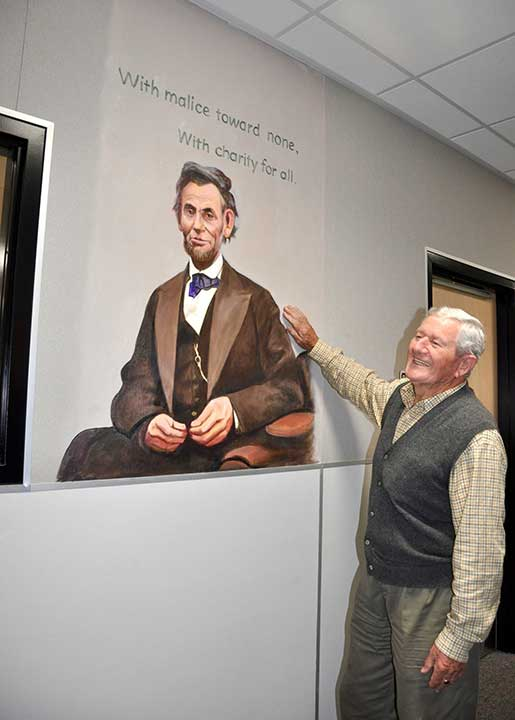 <div class='meta'><div class='origin-logo' data-origin='none'></div><span class='caption-text' data-credit='Walnut Valley Unified School District'>Cornelis Greive stands next to a mural he painted at Chaparral Middle School in Diamond Bar.</span></div>