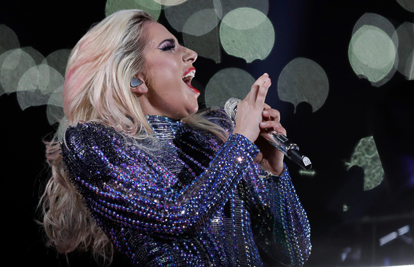 "<div class=""meta image-caption""><div class=""origin-logo origin-image none""><span>none</span></div><span class=""caption-text"">Singer Lady Gaga performs during the halftime show of the NFL Super Bowl 51 football game between the New England Patriots and the Atlanta Falcons, Sunday, Feb. 5, 2017, in Houston (Darron Cummings/AP)</span></div>"
