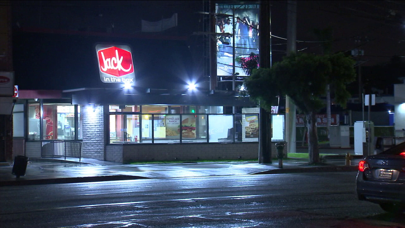 A Jack in the Box in Palms was robbed on Sunday, Feb. 5, 2017.