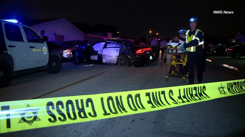 1 officer, 3 civilians hurt after wild Buena Park chase ends in crash