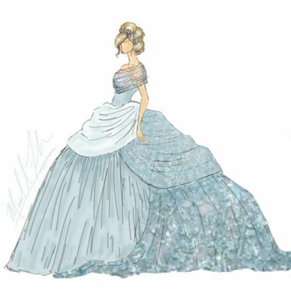 <div class='meta'><div class='origin-logo' data-origin='none'></div><span class='caption-text' data-credit='Michael Anthony Designs'>Cinderella's ballgown</span></div>