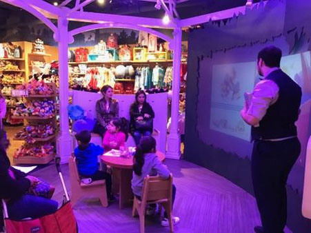 <div class='meta'><div class='origin-logo' data-origin='none'></div><span class='caption-text' data-credit=''>Alfredo D' Uva was the Cast Member who hosted the event Disney Store in the Galleria.</span></div>