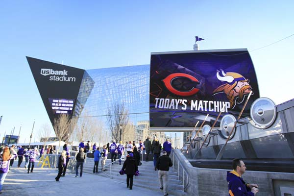 "<div class=""meta image-caption""><div class=""origin-logo origin-image ap""><span>AP</span></div><span class=""caption-text"">U.S. Bank Stadium before an NFL football game between the Minnesota Vikings and the Chicago Bears, Sunday, Jan. 1, 2017, in Minneapolis. (AP Photo/Andy Clayton-King) (AP)</span></div>"