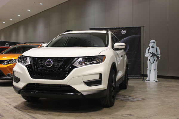 <div class='meta'><div class='origin-logo' data-origin='WLS'></div><span class='caption-text' data-credit=''>The 2017 Nissan Rogue One Star Wars Limited Edition in Stormtrooper White on display at the Concept and Technology Garage event at the 2017 Chicago Auto Show on Feb. 8, 2017.</span></div>