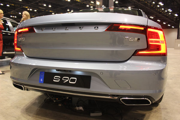 <div class='meta'><div class='origin-logo' data-origin='WLS'></div><span class='caption-text' data-credit=''>Back view of the 2017 Volvo S90 at the Concept and Technology Garage event at the 2017 Chicago Auto Show on Feb. 8, 2017.</span></div>