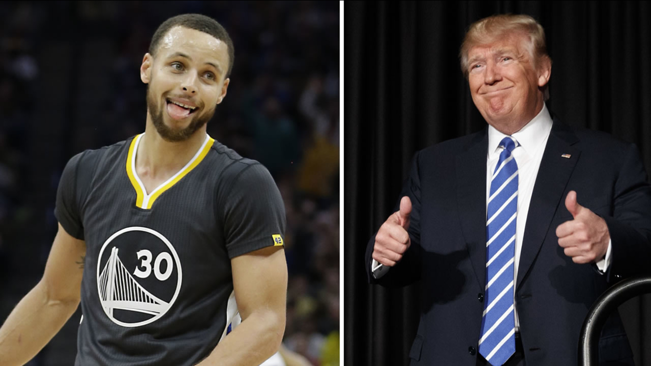 Warriors star Stephen Curry is responding to Under Armour's CEO's comments about Donald Trump.