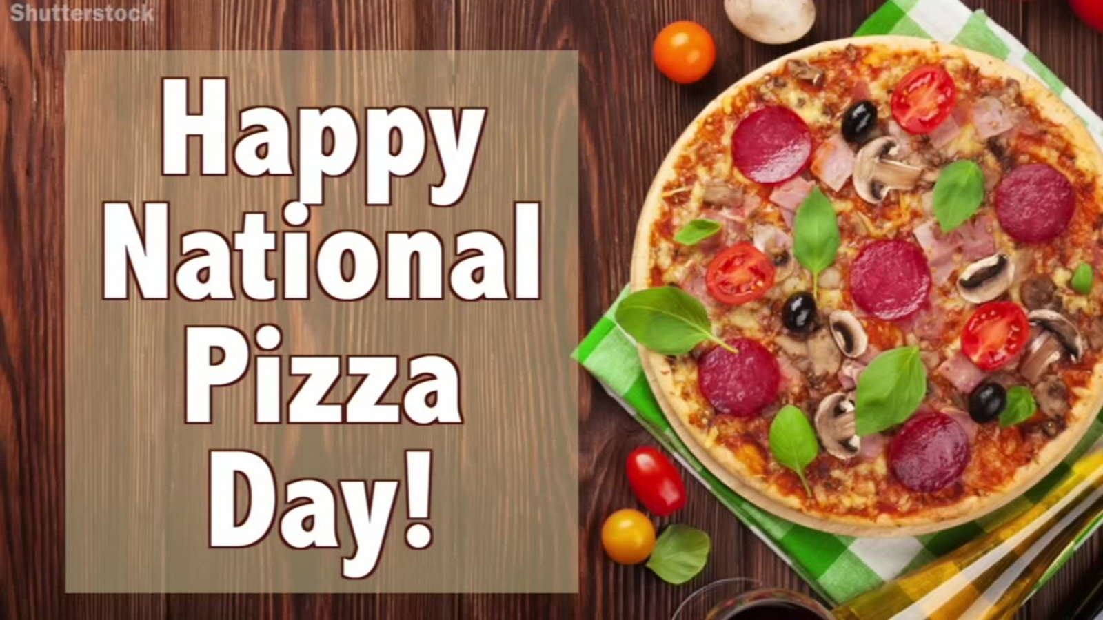 Saturday Is National Pizza Day - Abc7 San Francisco-9697