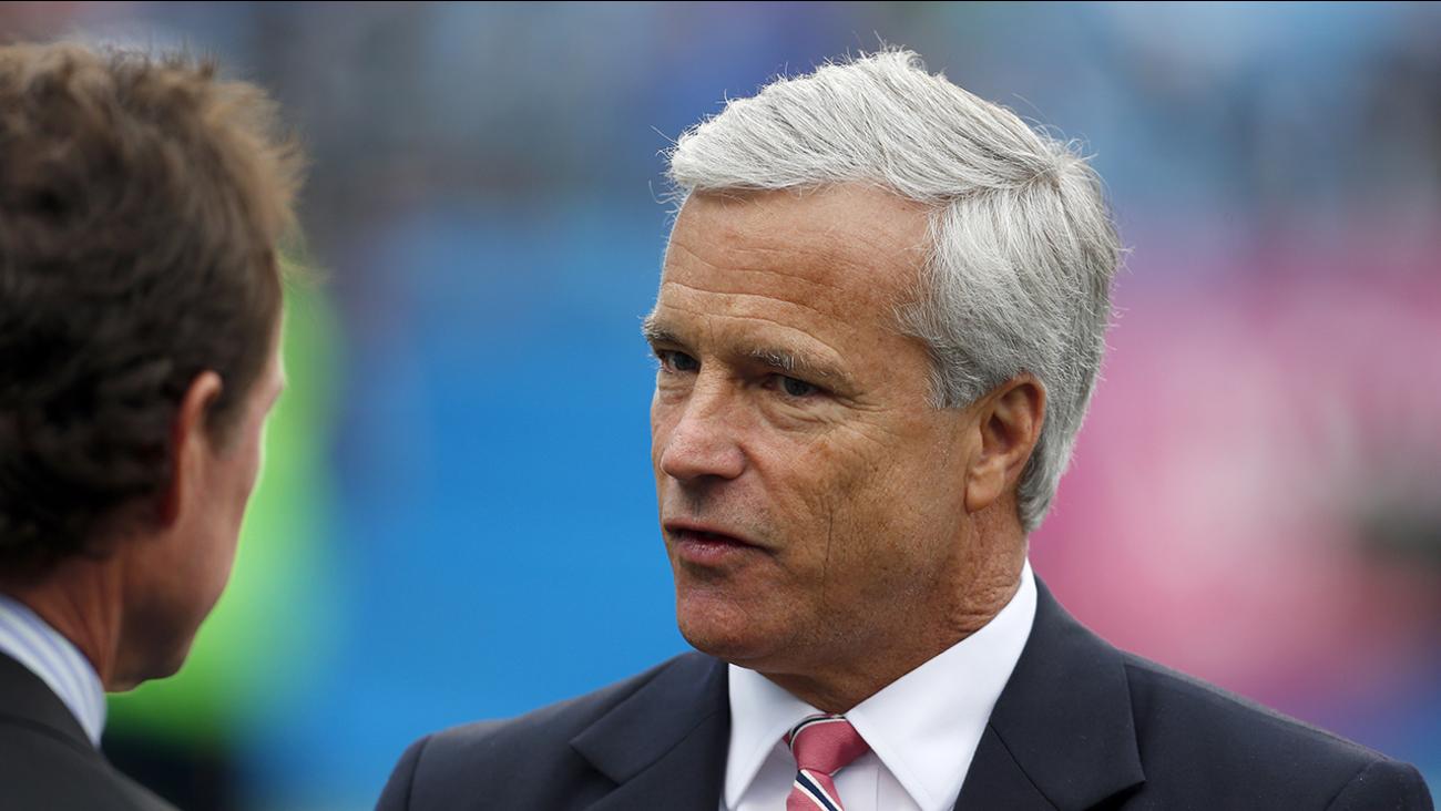 Danny Morrison became Carolina Panthers team president in 2009.