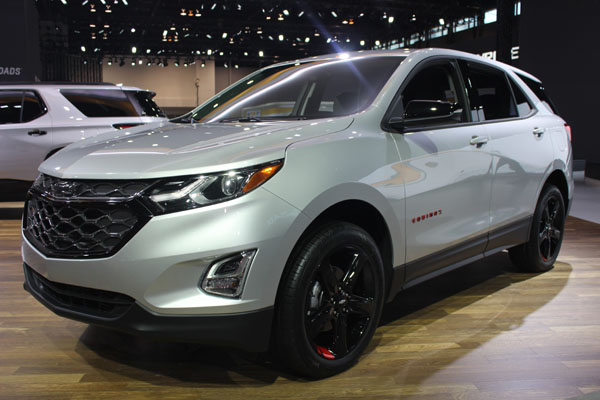 <div class='meta'><div class='origin-logo' data-origin='WLS'></div><span class='caption-text' data-credit=''>The 2018 Chevy Equinox on display at the 2017 Chicago Auto Show on Feb. 9, 2017.</span></div>