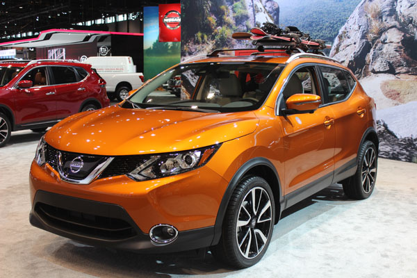 <div class='meta'><div class='origin-logo' data-origin='WLS'></div><span class='caption-text' data-credit=''>The 2017 Nissan Rogue Sport on display at the 2017 Chicago Auto Show on Feb. 9, 2017.</span></div>
