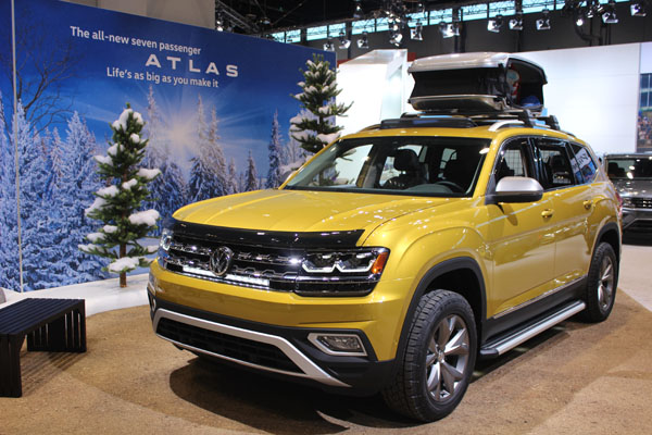"<div class=""meta image-caption""><div class=""origin-logo origin-image wls""><span>WLS</span></div><span class=""caption-text"">The 2018 Volkswagen Atlas on display at the 2017 Chicago Auto Show on Feb. 9, 2017.</span></div>"