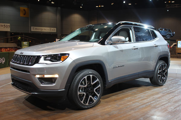 "<div class=""meta image-caption""><div class=""origin-logo origin-image wls""><span>WLS</span></div><span class=""caption-text"">The 2017 Jeep Compass on display at the 2017 Chicago Auto Show on Feb. 9, 2017.</span></div>"