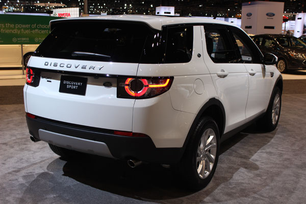 "<div class=""meta image-caption""><div class=""origin-logo origin-image wls""><span>WLS</span></div><span class=""caption-text"">The 2017 Land Rover Discovery on display at the 2017 Chicago Auto Show on Feb. 9, 2017.</span></div>"
