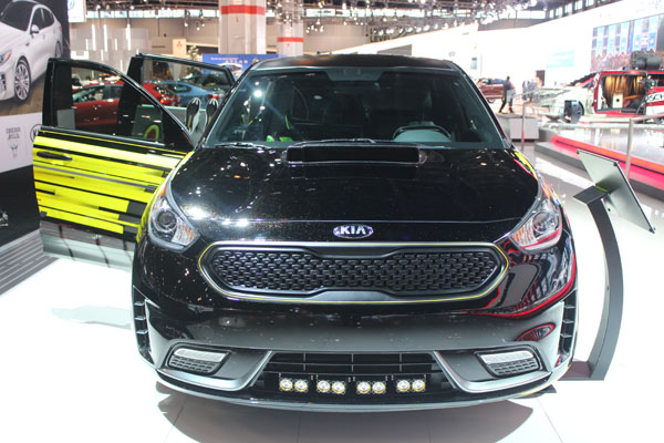 "<div class=""meta image-caption""><div class=""origin-logo origin-image wls""><span>WLS</span></div><span class=""caption-text"">The 2017 Kia Niro Triathlon concept on display at the 2017 Chicago Auto Show on Feb. 9, 2017.</span></div>"