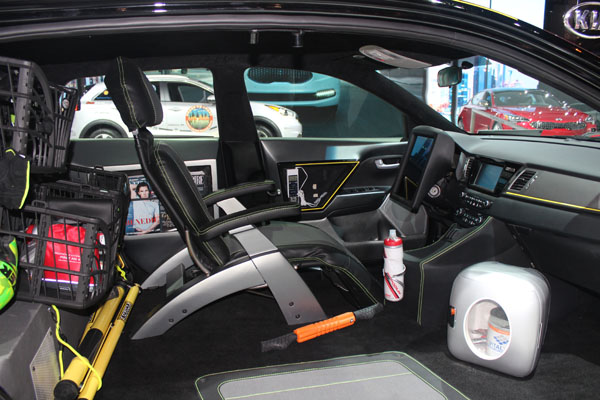 "<div class=""meta image-caption""><div class=""origin-logo origin-image wls""><span>WLS</span></div><span class=""caption-text"">Interior of the 2017 Kia Niro Triathlon concept on display at the 2017 Chicago Auto Show on Feb. 9, 2017.</span></div>"