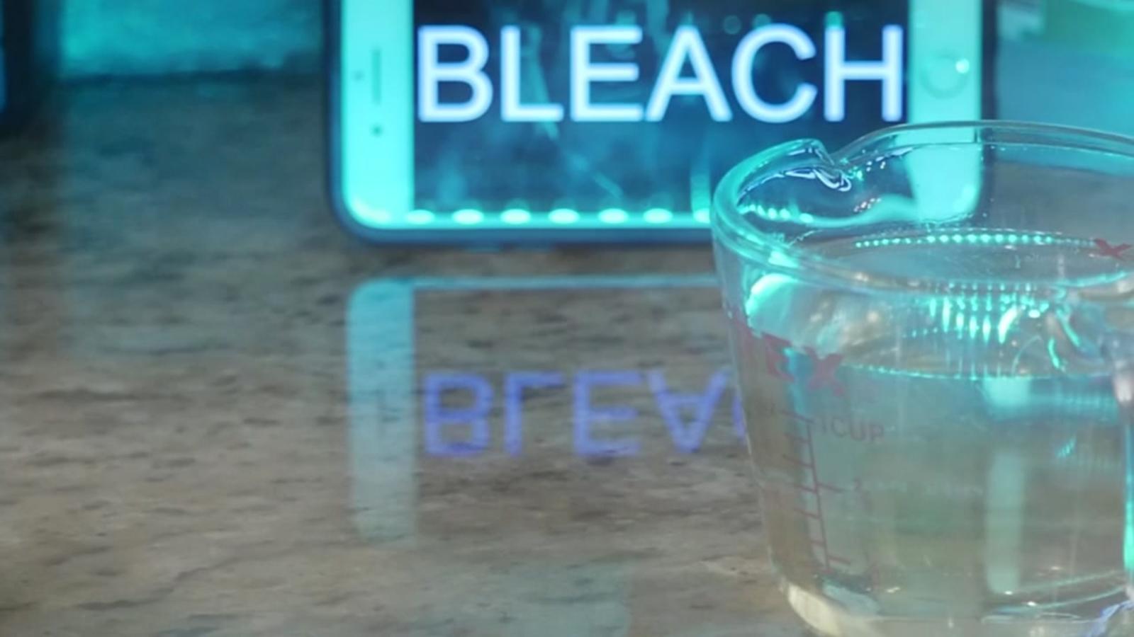 Bleach you drinking will kill 4