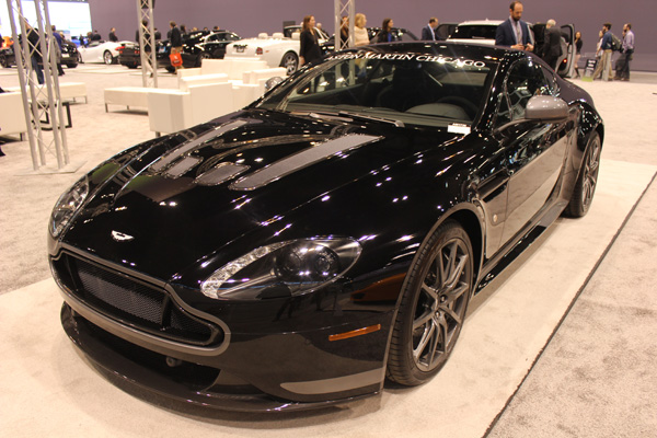 "<div class=""meta image-caption""><div class=""origin-logo origin-image wls""><span>WLS</span></div><span class=""caption-text"">The Aston Martin V12 Vantage S 7-speed on display at the 2017 Chicago Auto Show on Feb. 9, 2017.</span></div>"
