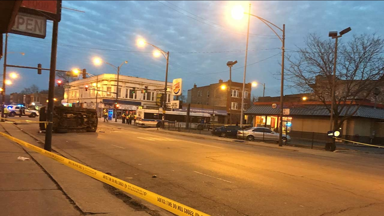 Boy, 9, killed in vehicle crash with CTA bus