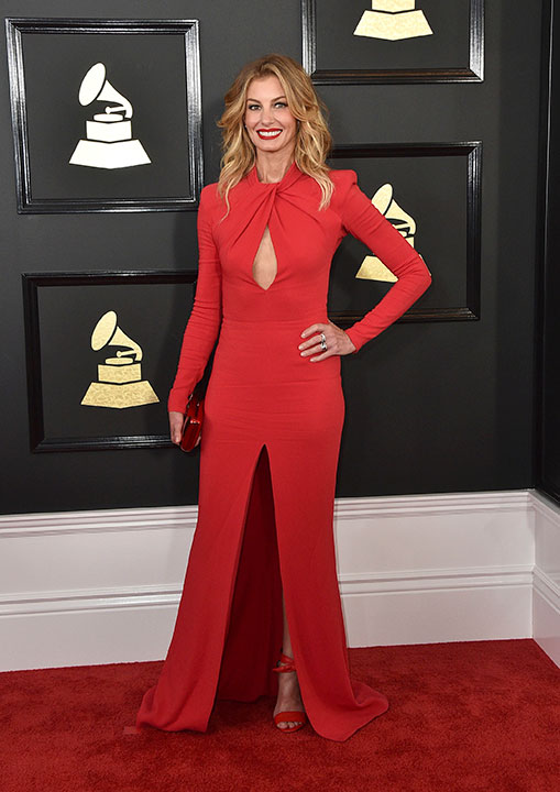 "<div class=""meta image-caption""><div class=""origin-logo origin-image none""><span>none</span></div><span class=""caption-text"">Faith Hill arrives at the 59th annual Grammy Awards at the Staples Center on Sunday, Feb. 12, 2017, in Los Angeles. (Jordan Strauss/Invision/AP)</span></div>"